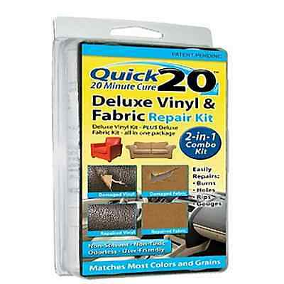 Quick20 NO Heat Deluxe Leather and Vinyl Repair Kit