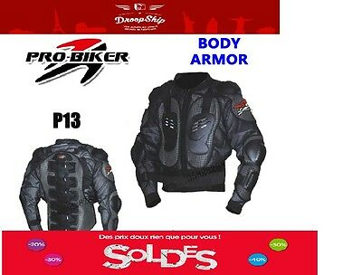 Veste Armure Protection Moto Enduro Trial Vtt Motocross Armor Vest Protection