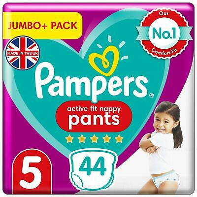 Pampers Premium Protection Baby Nappy Pants 12-17kg Diaper Size5 Jumbo Pack of40