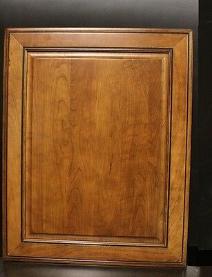 "Kraftmaid Kitchen Antique w/ Mocha Glaze Cherry Base Cabinet Door Panel 24""x30"""