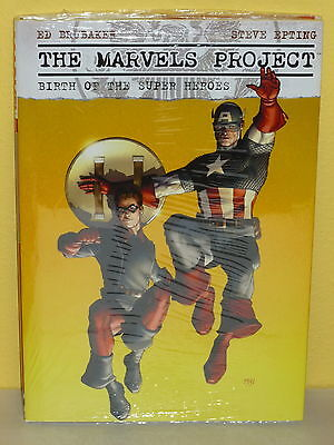 THE MARVELS PROJECT HC - Ed Brubaker EPTING  Marvel SEALED Birth of Super Heroes