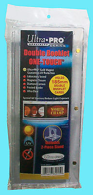 1 Ultra Pro One Touch DOUBLE BOOKLET 185mm Horizontal Magnetic Holder STAND Case