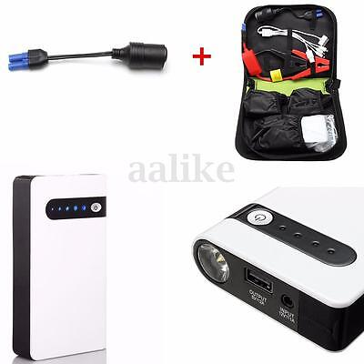 20000mAh Portable Jump Starter Car Battery Charger Power Bank LED Light 12V HOT