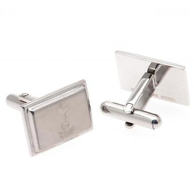 Official Licensed Product Tottenham Hotspur Stainless Steel Cufflinks Gift New