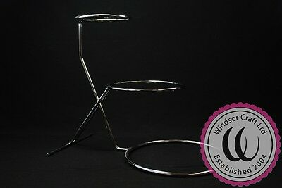 3 Tier High Stepped Wedding Cake Stand