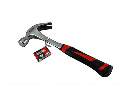Bent Claw Rip Hammer One-Piece Solid Steel Resist-Shock Handle Option:16/20oz