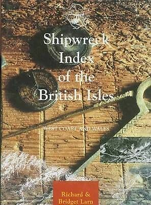 Shipwreck Index of the British Isles   West Coast and Wales
