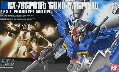 Bandai Hguc Gundam Rx-78 Gp01Fb High Grade 1/100 Plastic Model Kit Gunpla Hg
