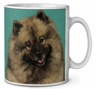 Keeshond Dog Coffee/Tea Mug Christmas Stocking Filler Gift Idea, AD-KEE1MG