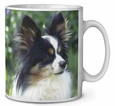 Papillon Dog Coffee/Tea Mug Christmas Stocking Filler Gift Idea, AD-PA62MG