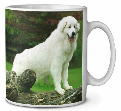 Pyrenean Mountain Dog Coffee/Tea Mug Christmas Stocking Filler Gift Id, AD-PM1MG