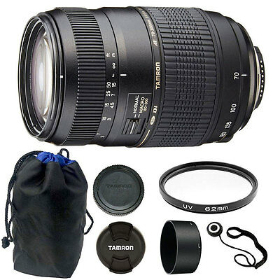 TAMRON AF 70-300mm f4-5.6 DI LD MACRO for CANON SL1, T5, 600D Accessory Kit