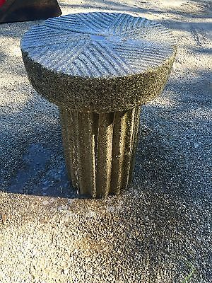 Millstone Antique granite Japanese garden stone water basin fountain