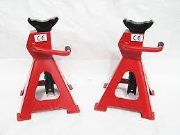 3 Ton Heavy Duty Axle Stand Jack Tonne Lift X 2 Car Lorry Van Stand