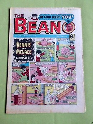 The Beano  - Uk Comic - 28 Nov 1981  - #2054