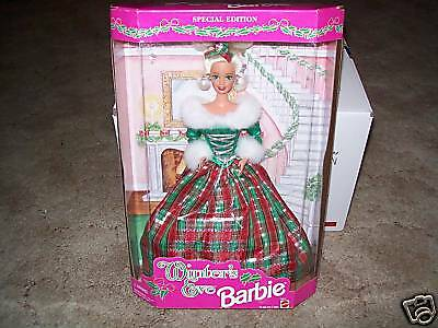 1994 Mattel--Winter's Eve Barbie Doll (New) Special Edition