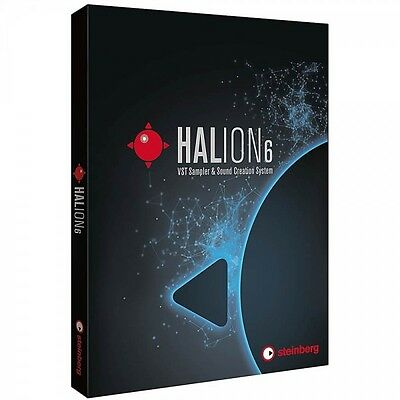 Steinberg Halion 6 VST Sampler with Sample Library & Live Sampling Editor