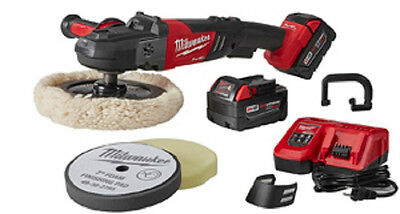 "Milwaukee 2738-22P M18 FUEL™ 7"" Variable Speed Polisher- Kit - Factory Sealed"