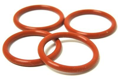 """1/2"""" NPT O'RING (4-PACK) WELDLESS HOMEBREW KETTLE BREWING FDA SILICONE  Q-117x4"""