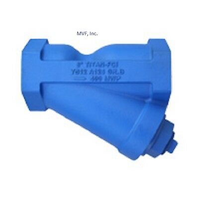 """Wye Strainer 3"""" Npt Cast Iron 250 Swp Ss Screen  270Wh"""