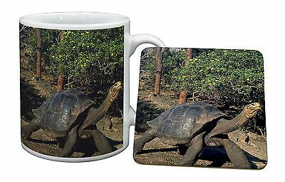Giant Galapagos Tortoise Mug+Coaster Christmas/Birthday Gift Idea, AR-T10MC