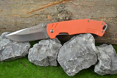 Böker Magnum 01SC460 Taschenmesser Messer Outdoormesser Orange Flair