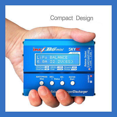 SKYRC iMAX B6 Mini 1-6 cell Li-Po Battery Balance Charger - w/o AC Adapter