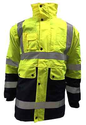 4-IN-1 Hi Visibility Jacket *FREE SHIPPING*
