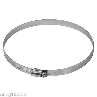 """Large Size Stainless Steel Worm Gear Hose Clamp 6.5"""" to 8.5"""" Band # 63128"""