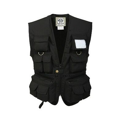 Rothco 8547 Kid's Uncle Milty's Black Travel Vest