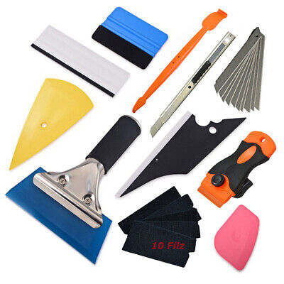 8 Car Styling Vinyl Car Wrap Tools Sticker Install Magnet Tool Set  Squeegee