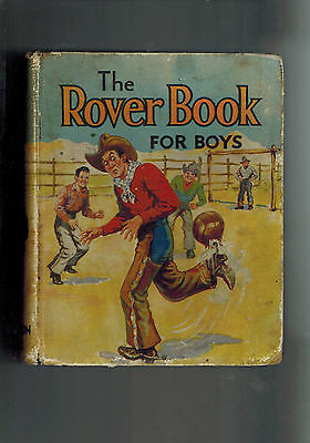 ROVER ANNUAL 1937 from Rover Comic - D. C. Thomson