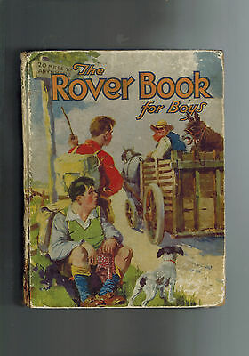 ROVER ANNUAL 1932 from Rover Comic - D. C. Thomson