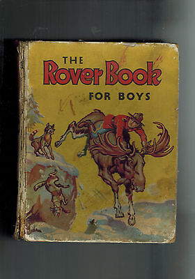 ROVER ANNUAL 1940 from Rover Comic - D. C. Thomson