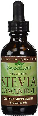 Stevia Concentrate Dark Liquid, SweetLeaf, 2oz.
