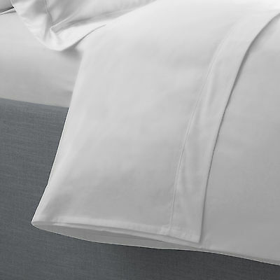 Essential Polycotton Flat Sheet - White - Single