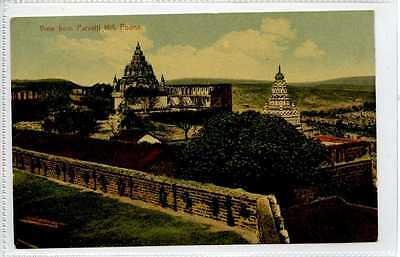 (Gy921-406) View from Parvatti Hill, POONA, India c1910 VG-EX