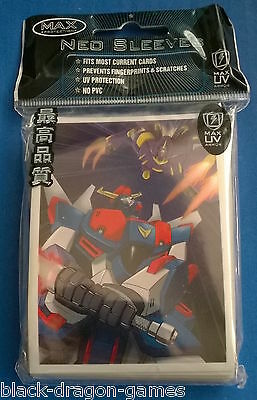Max Protection Neo Trading Card Sleeves - 50 Pack - Robo-War Robots - YuGiOh