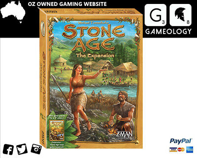 Stone Age The Expansion Board Game
