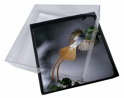 4x Humming Bird Picture Table Coasters Set in Gift Box, AB-91C