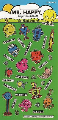 Mr Men & Little Miss Small Sticker Pack Various Mr Men Character Stickers