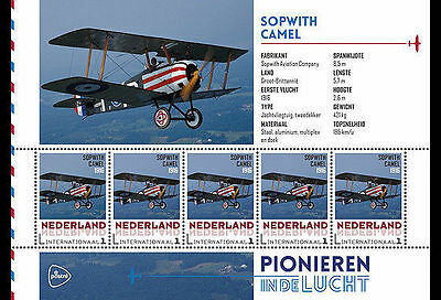 Nederland, 2015. Aviation, Sopwith Camel, MNH