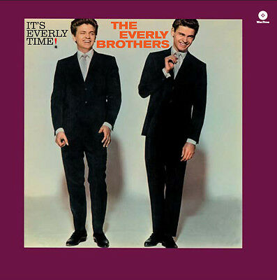 Everly Brothers  It's Everly Time! Vinile Lp 180 Grammi Nuovo Sigillato