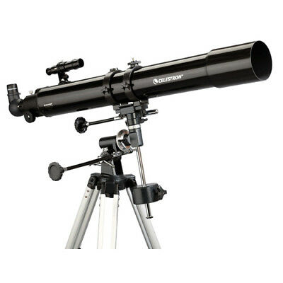 Celestron 21048 PowerSeeker 80EQ Telescope W/ 189x Magnification
