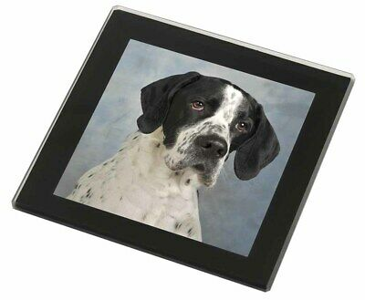 """English Pointer Dog /""""Yours Forever.../"""" Glass Paperweight in Gift Box AD-EP1yPW"""