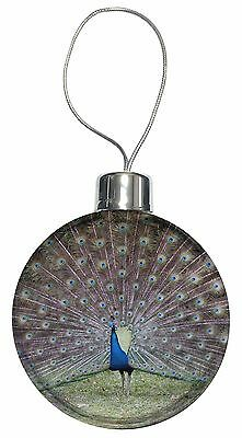 Colourful Peacock Christmas Tree Bauble Decoration Gift, AB-PE76CB
