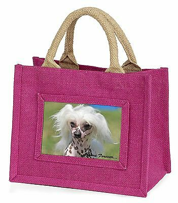 """Chinese Crested Dog """"Yours Forever..."""" Little Girls Small Pink Shop, AD-CHC4yBMP"""