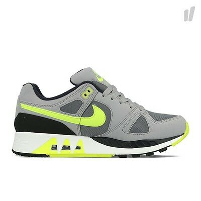 312451-003 Men s Nike Air Stab Cool Grey Wolf Grey Anthracite Volt Authentic b36a7559e