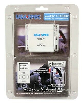 SOUNDSTREAM IP-5C FULL CONTROL CHARGING IPOD IPHONE VIDEO CABLE INGENIX STEREO