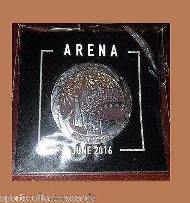 LOOTCRATE Arena Coin Pin BADGE June 2016 Arena LOOT CRATE EXCLUSIVE